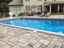 Completed beautiful in ground pool project in Erie, PA.